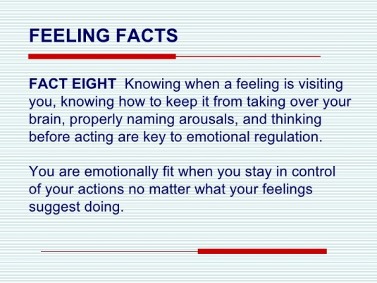 feeling fact