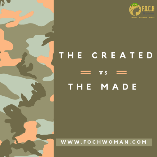 The created and The made
